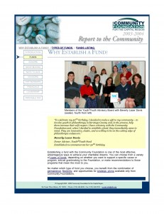 2003-2004 CFGCR Annual Report