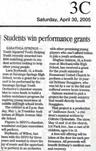 The Saratogian - April 30, 2005